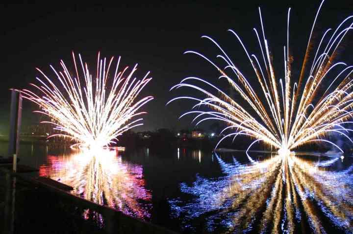 Hanabi (Sumidagawa Hanabi Taikai) Fête des feux d'artifices Gifu-hanabi1